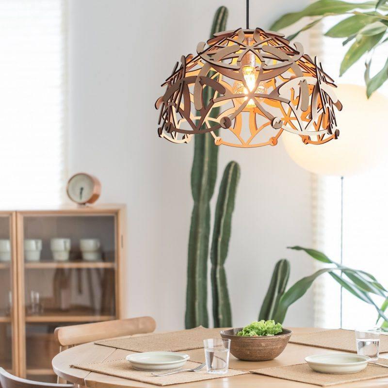 Hanglamp Antler 2 in MDF